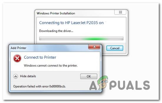 Wie behebt man den Netzwerkdruckerfehler 0x00000bcb?