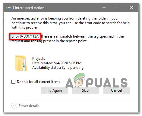 [FIX] 0x8007112A Fehler beim Verschieben oder Löschen von Ordnern