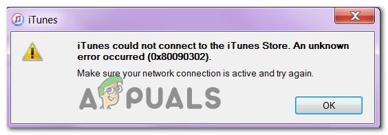 Wie behebt iTunes den Fehler 0x80090302 unter Windows 10 nicht?