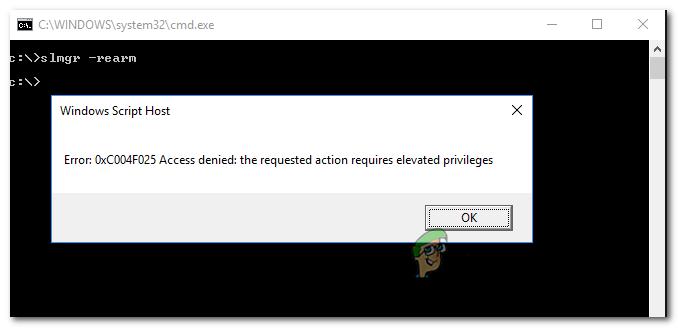 So beheben Sie den Windows-Aktivierungsfehler 0xc004f025 'Zugriff verweigert'