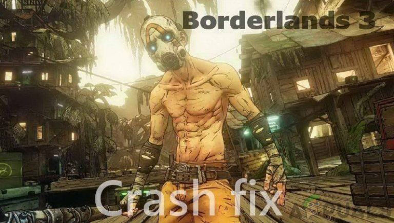 Wie kann man Border Lands 3 Crashing beheben?