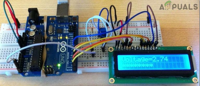 Wie erstelle ich ein digitales DC-Voltmeter mit Arduino?
