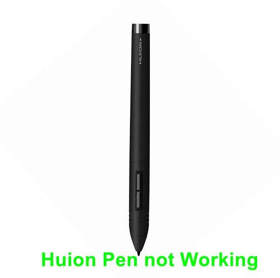 Huion Pen funktioniert nicht [Fixes]
