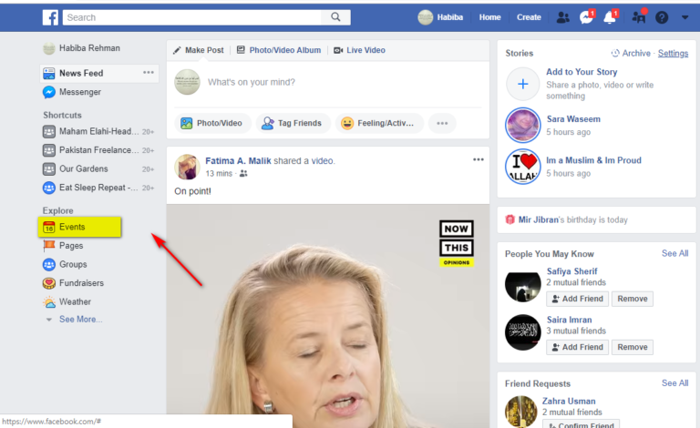 So erstellen Sie ein öffentliches / privates Ereignis auf Facebook