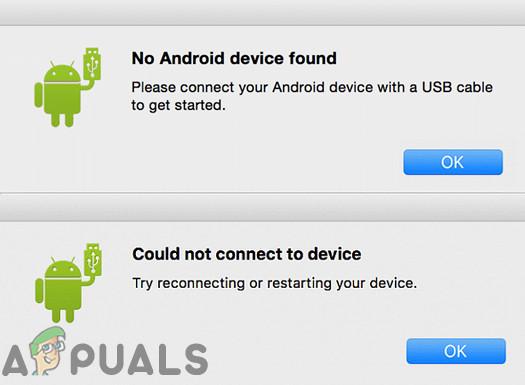 Android-Dateiübertragung funktioniert unter MacOS nicht (Fix)