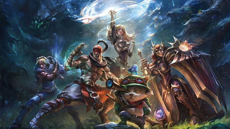 League of Legends Herunterladen zu langsam [Fixes]