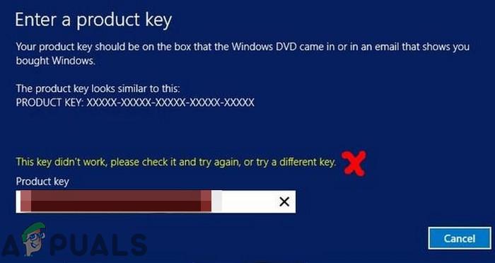Fix: Windows Server akzeptiert keinen neuen Produktschlüssel