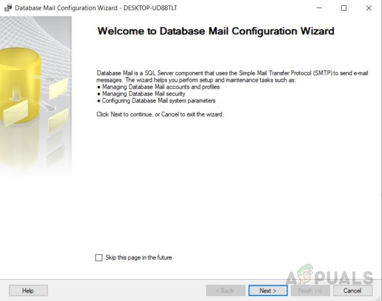 Wie richte ich Datenbank-Mail in SQL Server mit Google Mail ein?