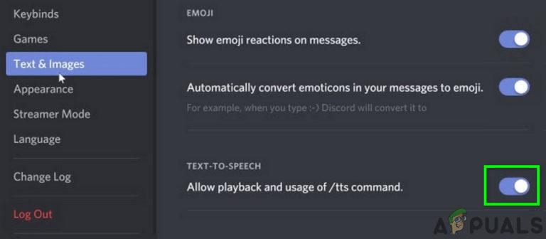 Fix: Discord TTS 'Text-to-Speech' funktioniert nicht