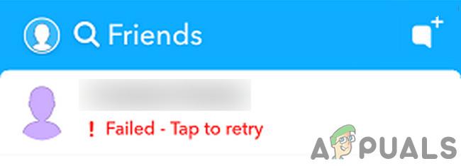 Fix: Snapchat konnte nicht gesendet werden