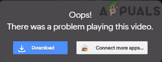 Fix: Google Drive spielt keine Videos ab 'Es ist ein Problem beim Abspielen dieses Videos aufgetreten'