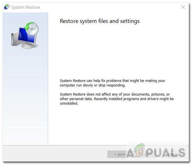 Fix: Systemwiederherstellung Fehler beim Extrahieren der Datei vom Wiederherstellungspunkt
