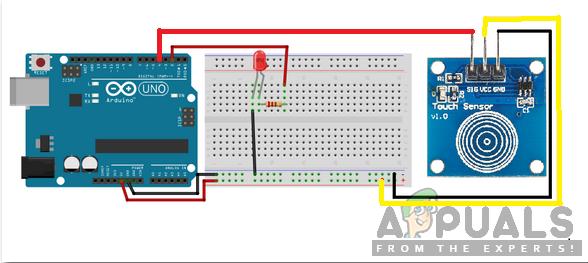 Wie entwerfe ich eine Touch-Dimmer-Schaltung mit Arduino?