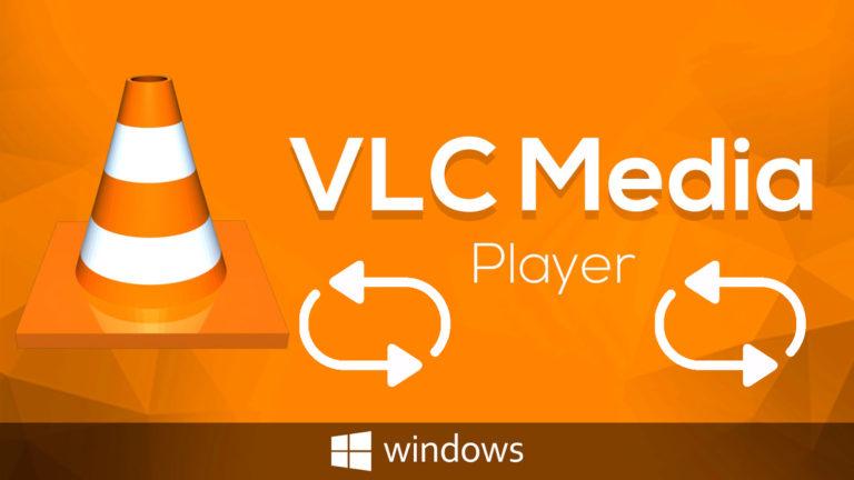 Wie kann ich ein Video mit dem VLC Player wiederholen oder wiederholt abspielen?