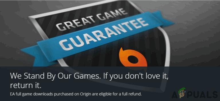 Wie bekomme ich eine Rückerstattung für Origin-Spiele?