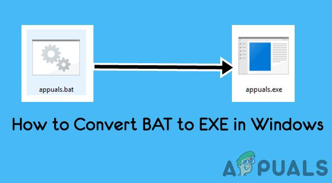 Konvertieren von Batch-Dateien .BAT in ausführbare Dateien .EXE
