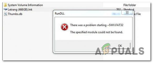 Fix RunDLL 'Beim Öffnen der Festplatte ist ein Problem beim Starten aufgetreten'