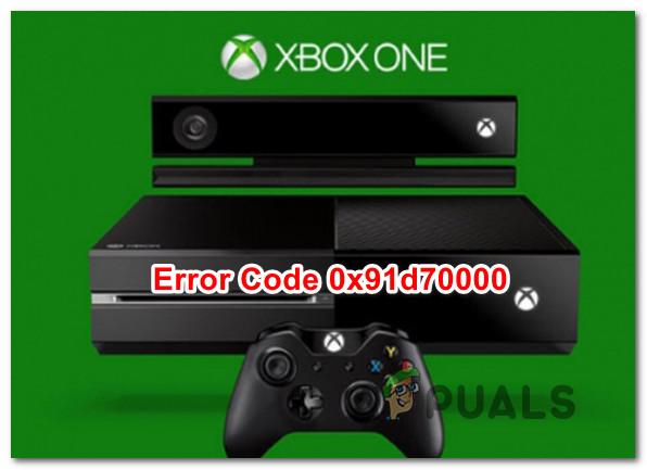 Wie behebe ich den Xbox One-Fehler 0x91d70000?