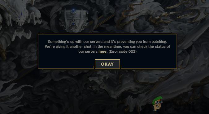 League of Legends wird aufgrund von Serverfehlern nicht gespielt?  Verwenden Sie diese Korrekturen