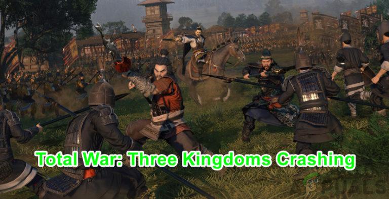 Wie kann man den Absturz von Total War Three Kingdoms beheben?