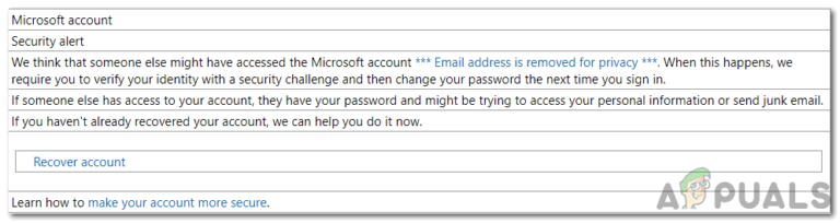 Sind E-Mails von 'security-noreply-account@accountprotection.microsoft.com' sicher?
