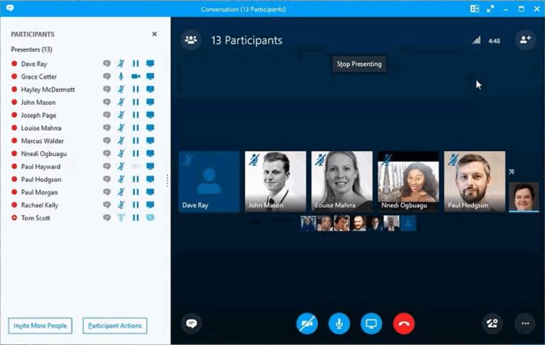 Wie ernenne ich einen Moderator für eine Skype for Business-Konferenz?