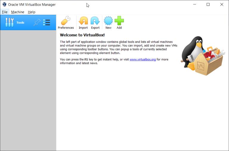 Erstellen Sie Ihre erste virtuelle Maschine in Oracle VM VirtualBox