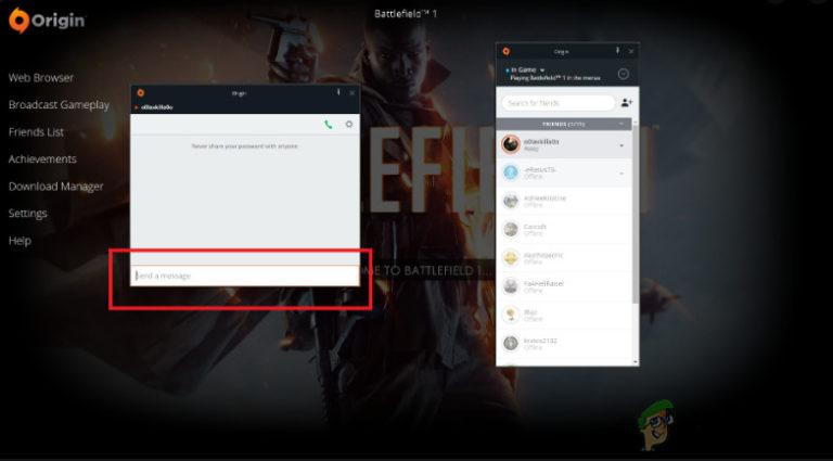 Fix: Origin Overlay funktioniert nicht