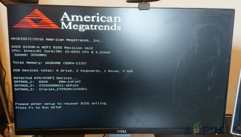 Fix: Windows blieb nach der Installation einer neuen SSD auf dem BOOT-Bildschirm hängen