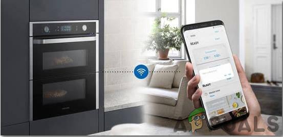 Steuern Ihres Ofens von Ihrem Smartphone aus über WLAN