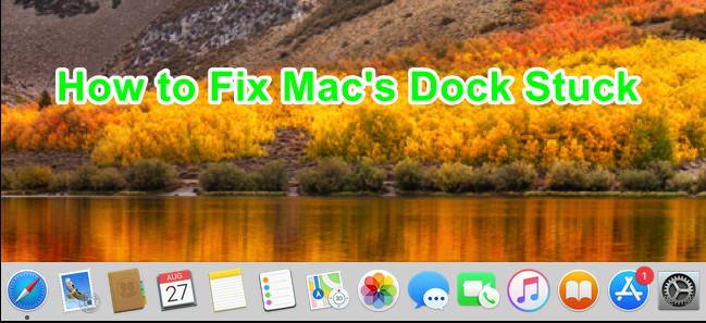 Wie behebt man, dass das Mac Dock hängen bleibt?