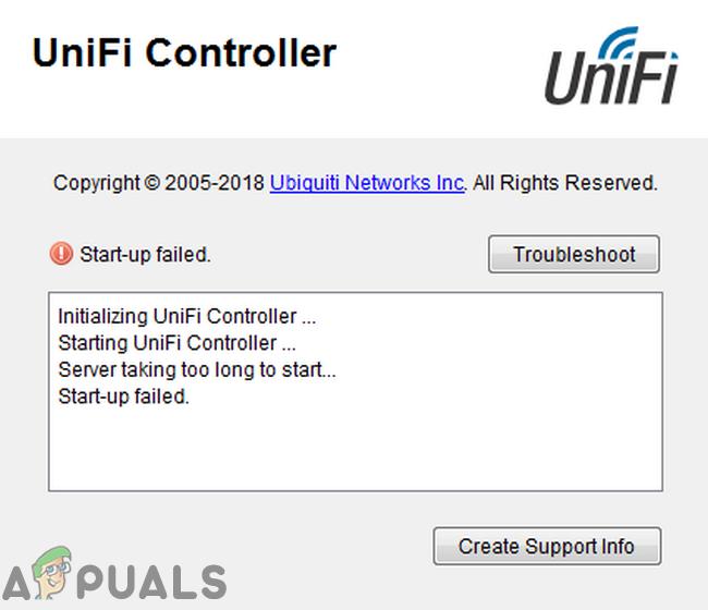 Fix: Unifi Controller-Start fehlgeschlagen