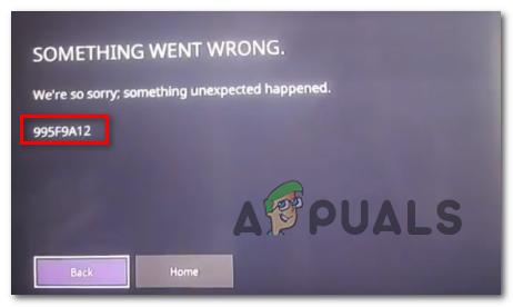 Wie behebe ich den 995f9a12 Twitch App-Fehlercode auf Xbox One?
