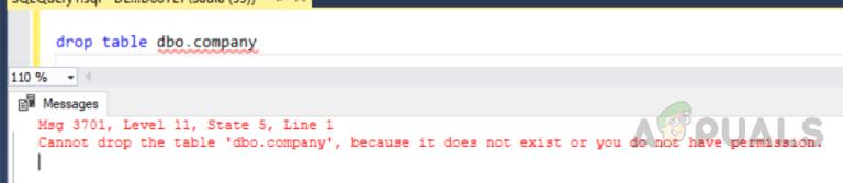 Wie verwende ich DROP IF EXISTS in SQL Server?