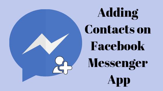 So fügen Sie jemanden in die Messenger-App von Facebook ein