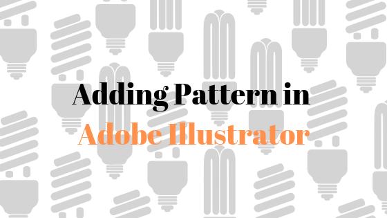 Wie füge ich Formen und Text in Adobe Illustrator Muster hinzu?