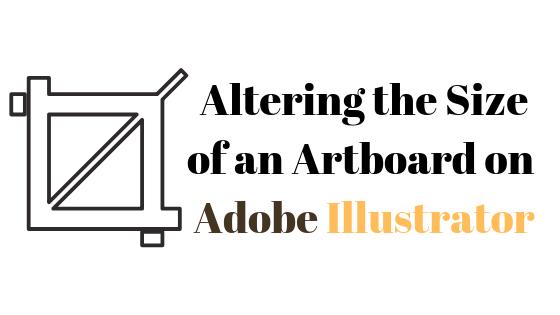 So ändern Sie die Zeichenflächengröße in Illustrator
