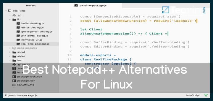 12 besten Notepad ++ – Alternativen für Linux