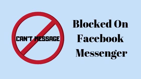 Wie kann ich überprüfen, ob jemand Sie in der Messenger-App für Facebook blockiert hat?