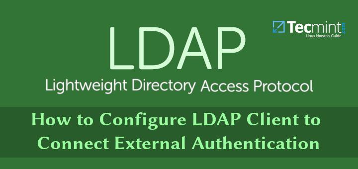 So konfigurieren Sie den LDAP-Client für die Verbindung mit der externen Authentifizierung