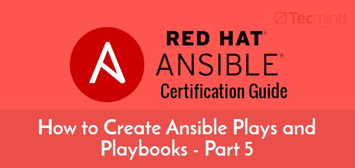 So erstellen Sie Ansible-Spiele und Playbooks – Teil 5