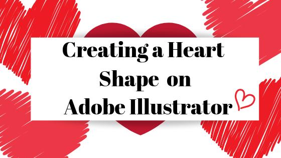So erstellen Sie eine Herzform in Adobe Illustrator