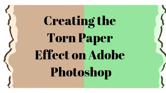 So erstellen Sie ein zerrissenes Stück Papier in Adobe Photoshop