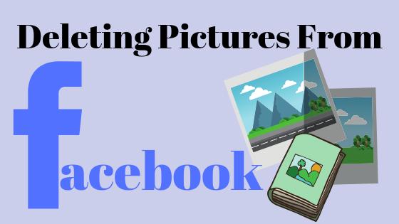 So löschen Sie Bilder, die Sie auf Facebook hochgeladen haben