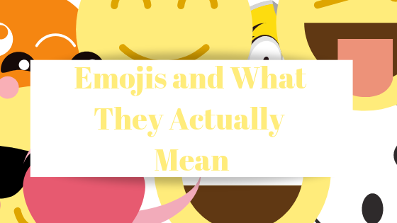 Häufig verwendete Emojis und was sie eigentlich bedeuten