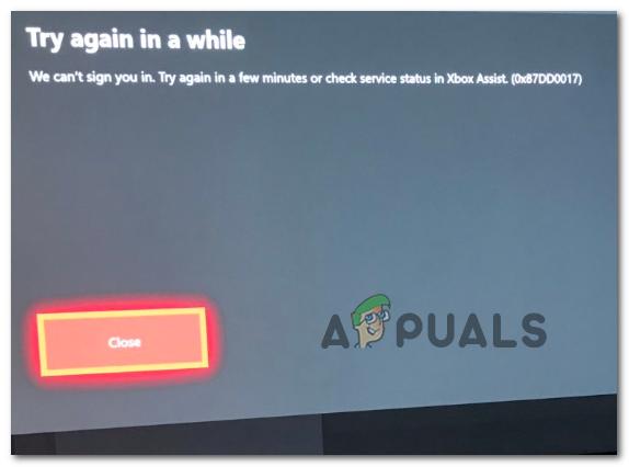 Wie behebe ich den Xbox Assist-Fehler 0x87DD0017?