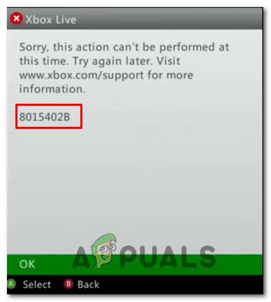 Wie behebe ich den Xbox Live-Fehler 8015402B?
