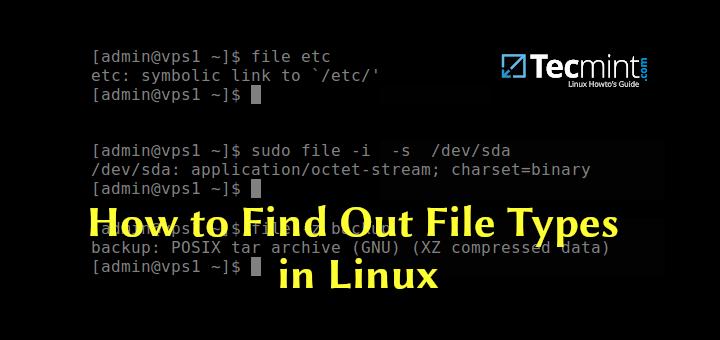 So finden Sie Dateitypen unter Linux heraus