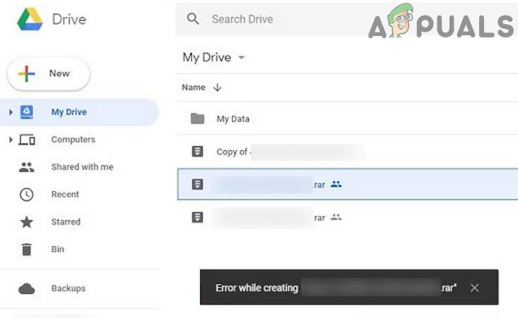 Fix: Google Drive-Fehler beim Erstellen einer Kopie