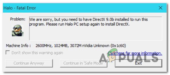 Wie behebe ich den schwerwiegenden Halo CE DX-Fehler unter Windows 10?